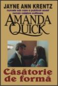Casatorie de forma de Jayne Ann Krentz (Amanda Quick)  -Carti bune de citit